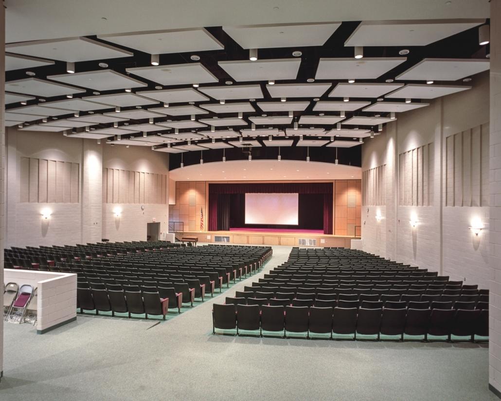Secaucus H S Performing Arts Center The Rinaldi Group