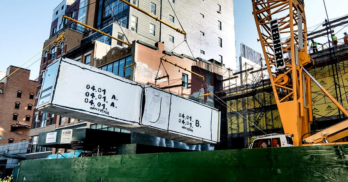 The Real Deal Rinaldi Group Citizenm Developing Pre Fab