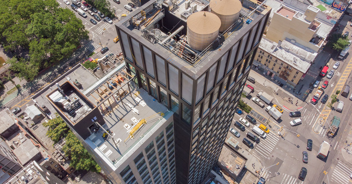 citizenM bowery aerial