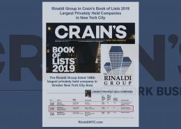 rinaldi crains