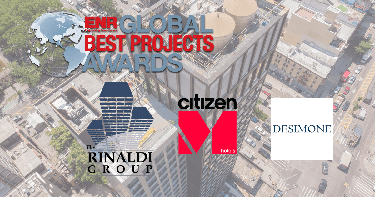ENR: CitizenM Bowery Hotel Awarded 2019 Global Best Project